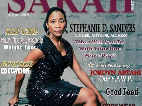 "Stephanie Featured in ""Sarah"" Magazine"